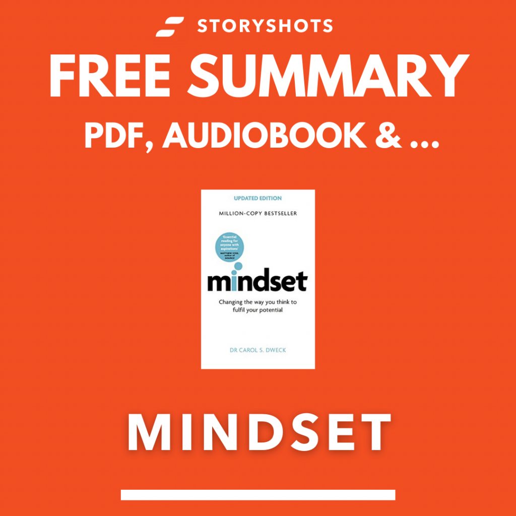 Mindset Summary PDF Audio Book by Carol Dweck