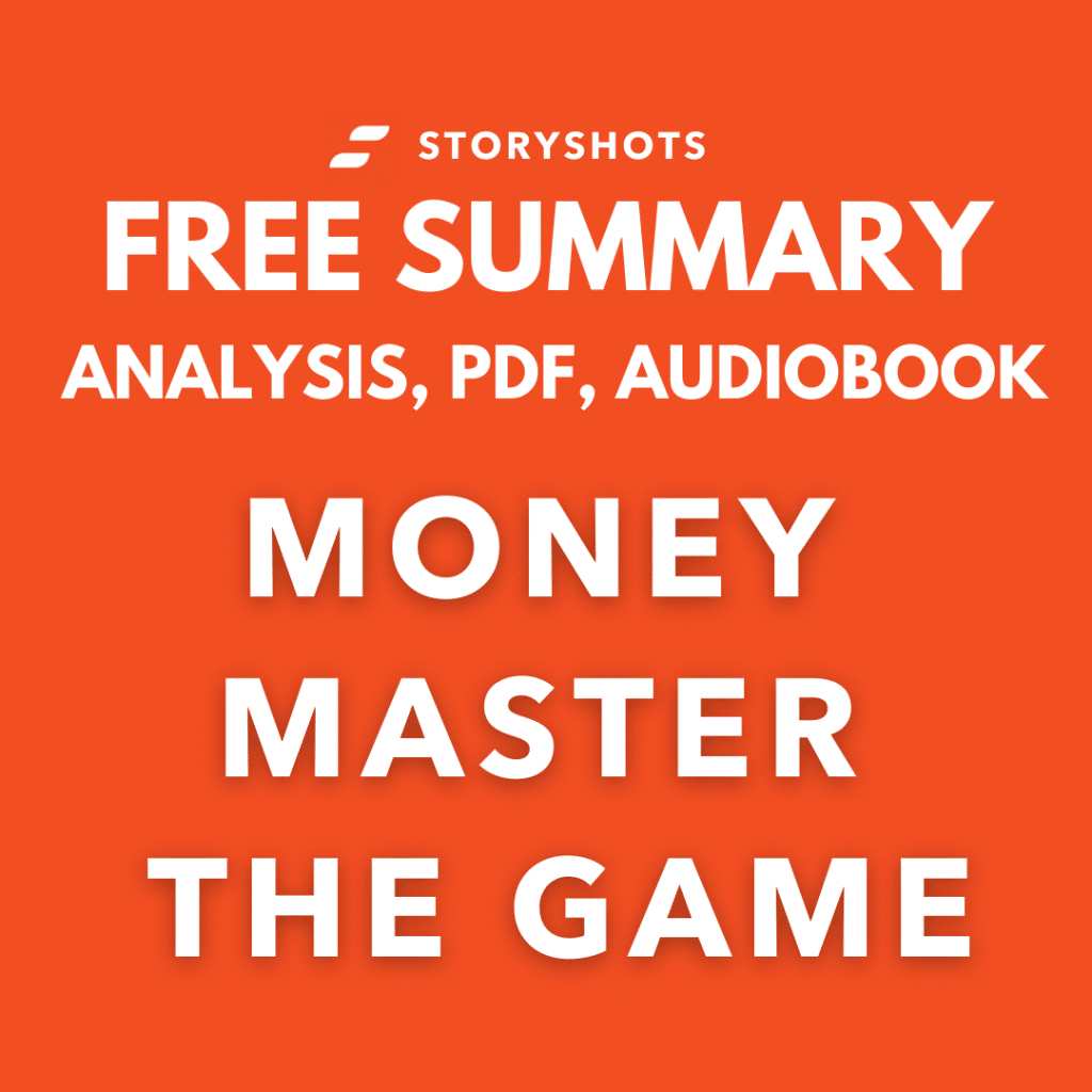 Money Master the Game PDF Summary Book Analysis Tony Robbins StoryShots Free Audiobook