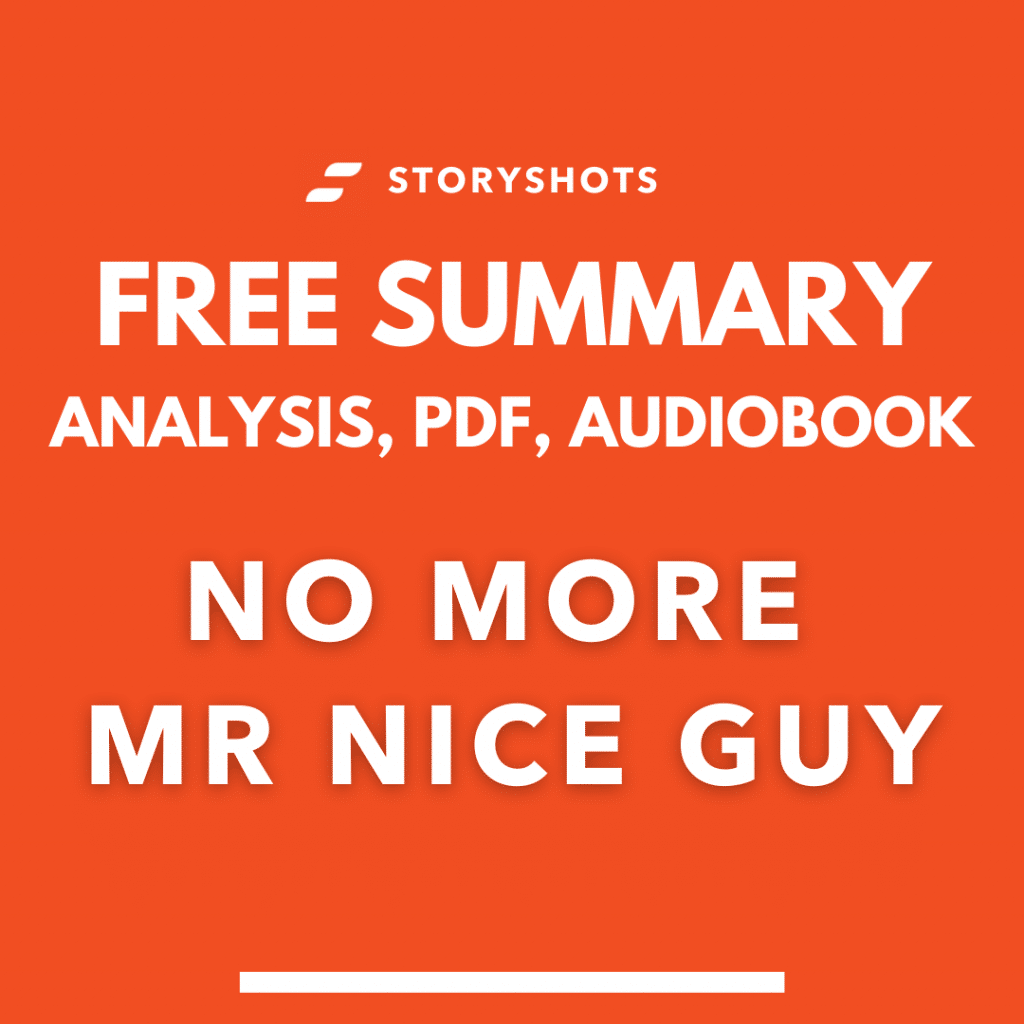 No More Mr Nice Guy Summary PDF Quotes Free Audiobook