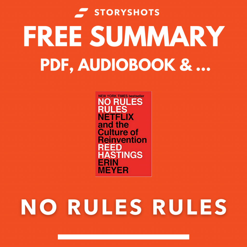 No Rules Rules Summary by Reed Hastings PDF ePub Audiobook