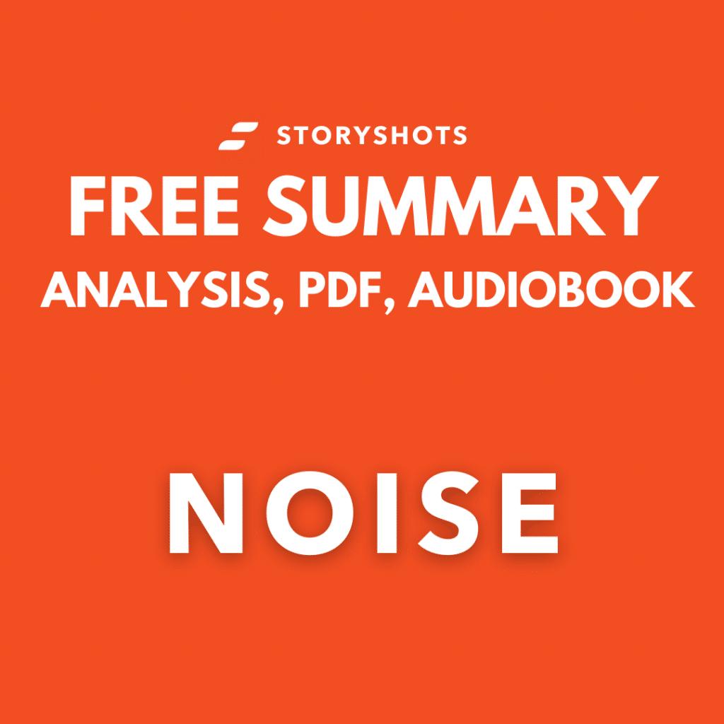 noise summary pdf daniel kahneman-review free audio book storyshots