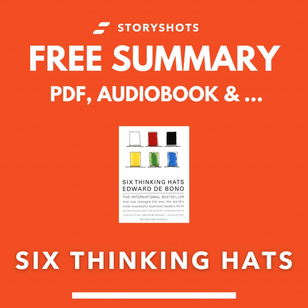 Six Thinking Hats Summary PDF Free Audio Book Edward De Bono