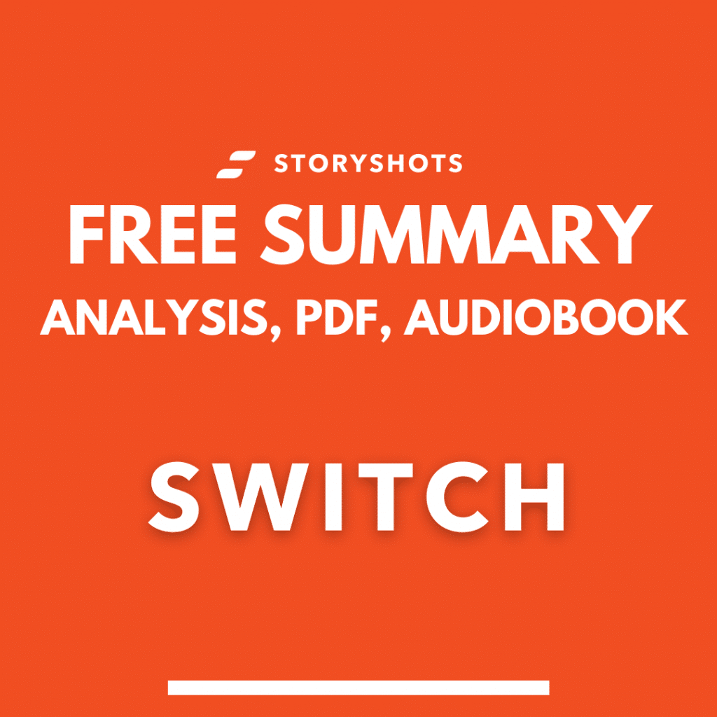 Switch book summary pdf Dan Heath Free Audiobook Analysis on StoryShots