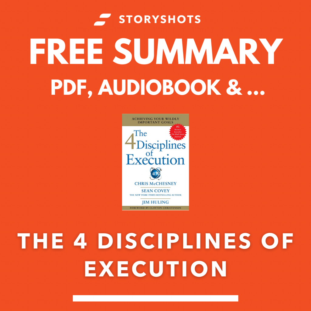 The Four Disciplines of Execution Summary by Chri McChesney - free pdf audio book review