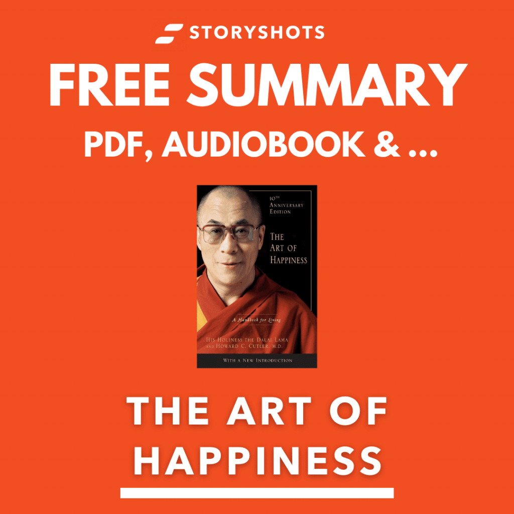 The Art of Happiness Book Summary Review PDF Quotes by Dalai Lama