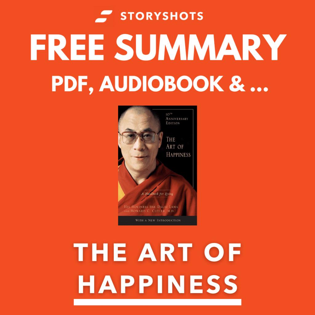 The Art of Happiness PDF Book Summary by Dalai Lama