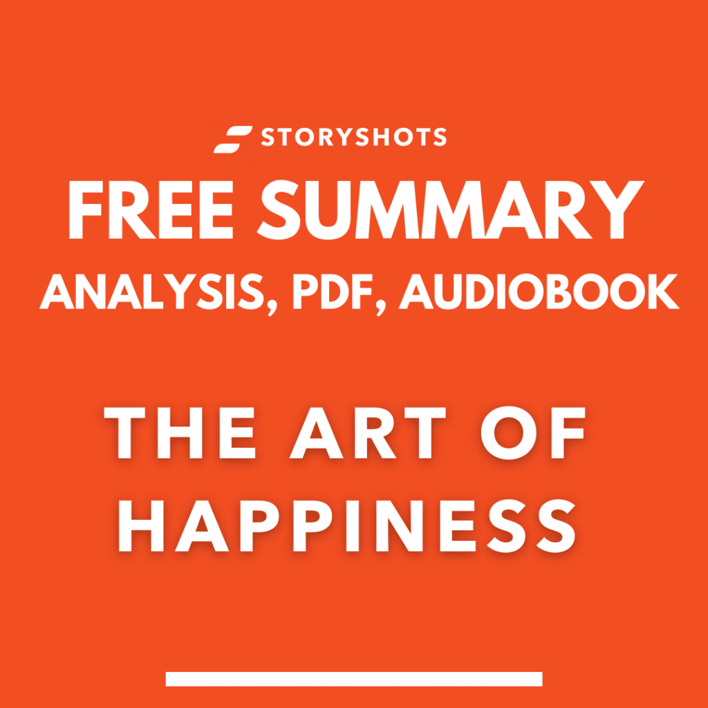 The Art of Happiness Book Summary Review PDF Quotes by Dalai Lama free audiobook storyshots analysis key takeaways