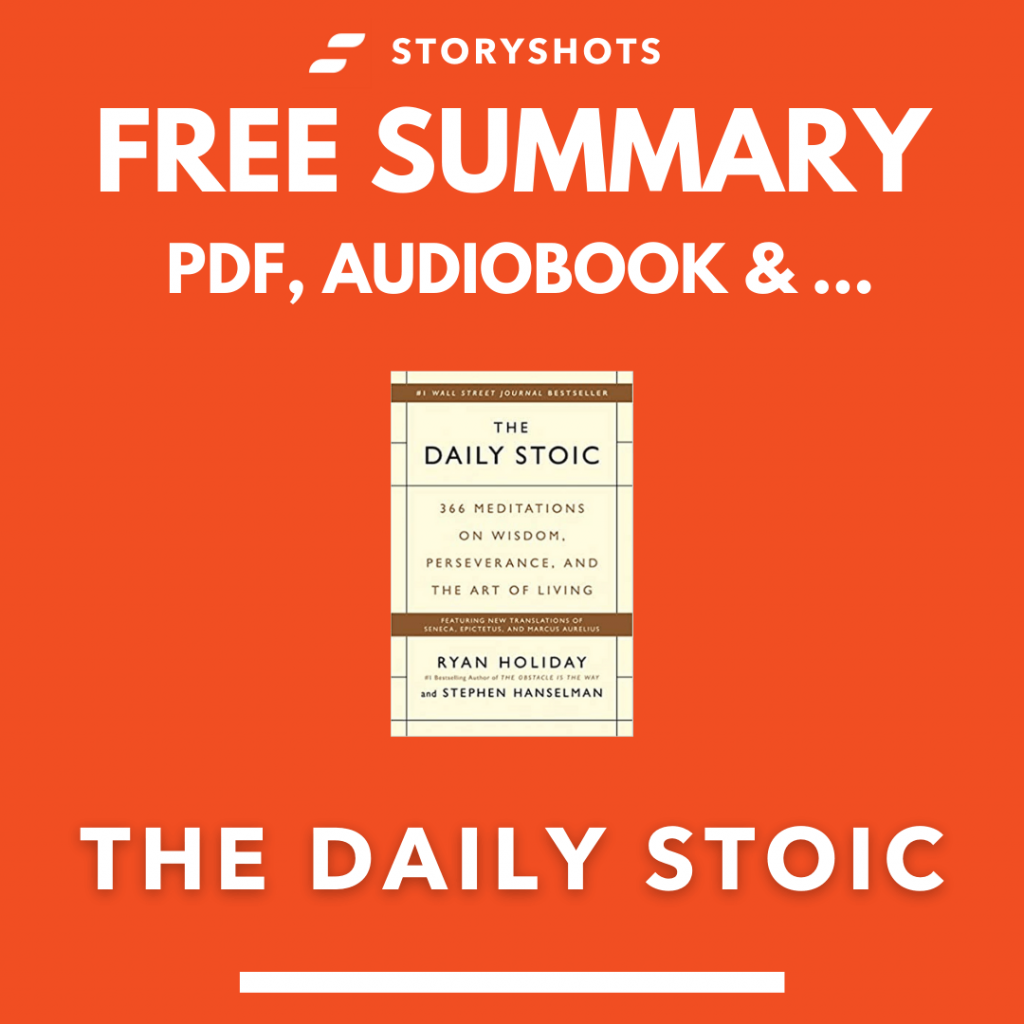 The Daily Stoic Summary PDF