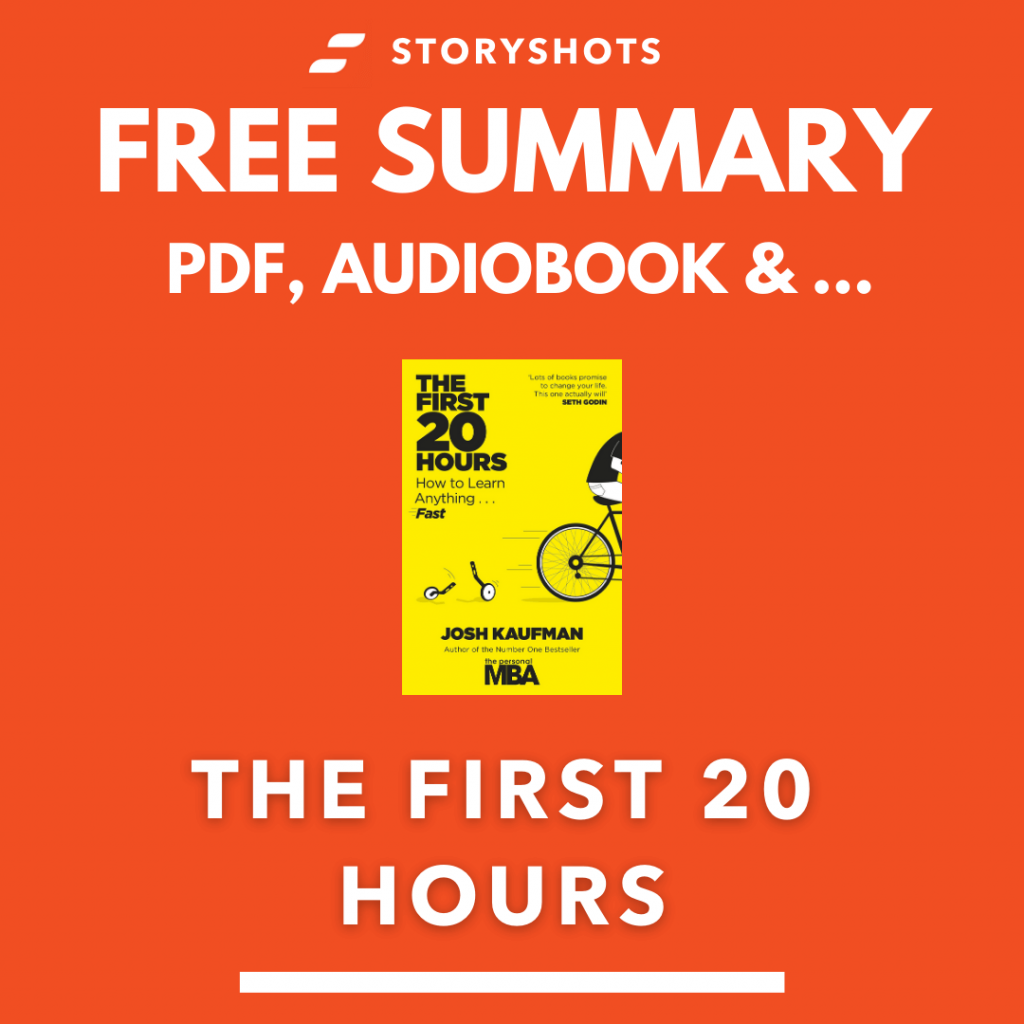The First 20 Hours Free Book Review Summary Audiobook Animated Book Summary PDF Epub on StoryShots