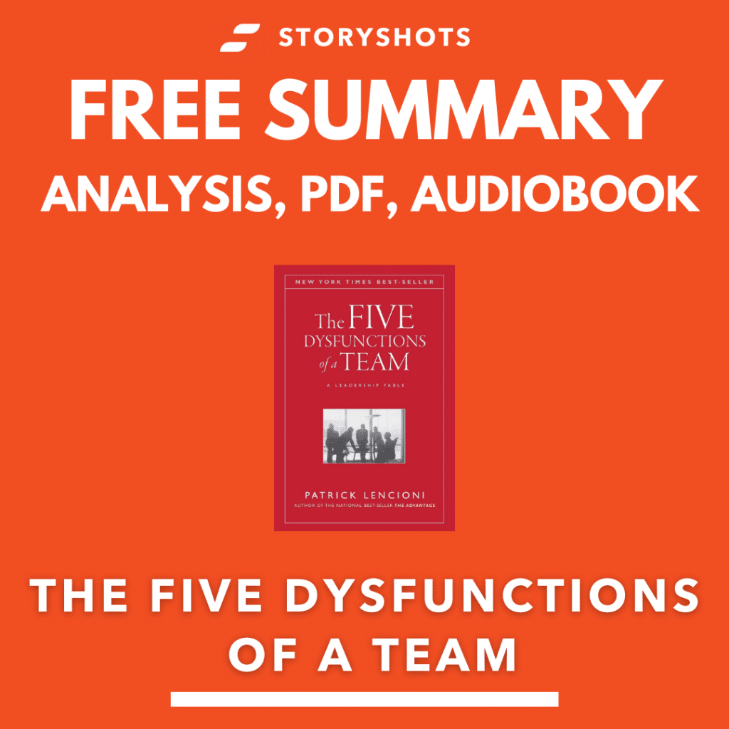 The Five Dysfunctions of a Team PDF Summary Analysis Patrick Lencioni Free Audiobook