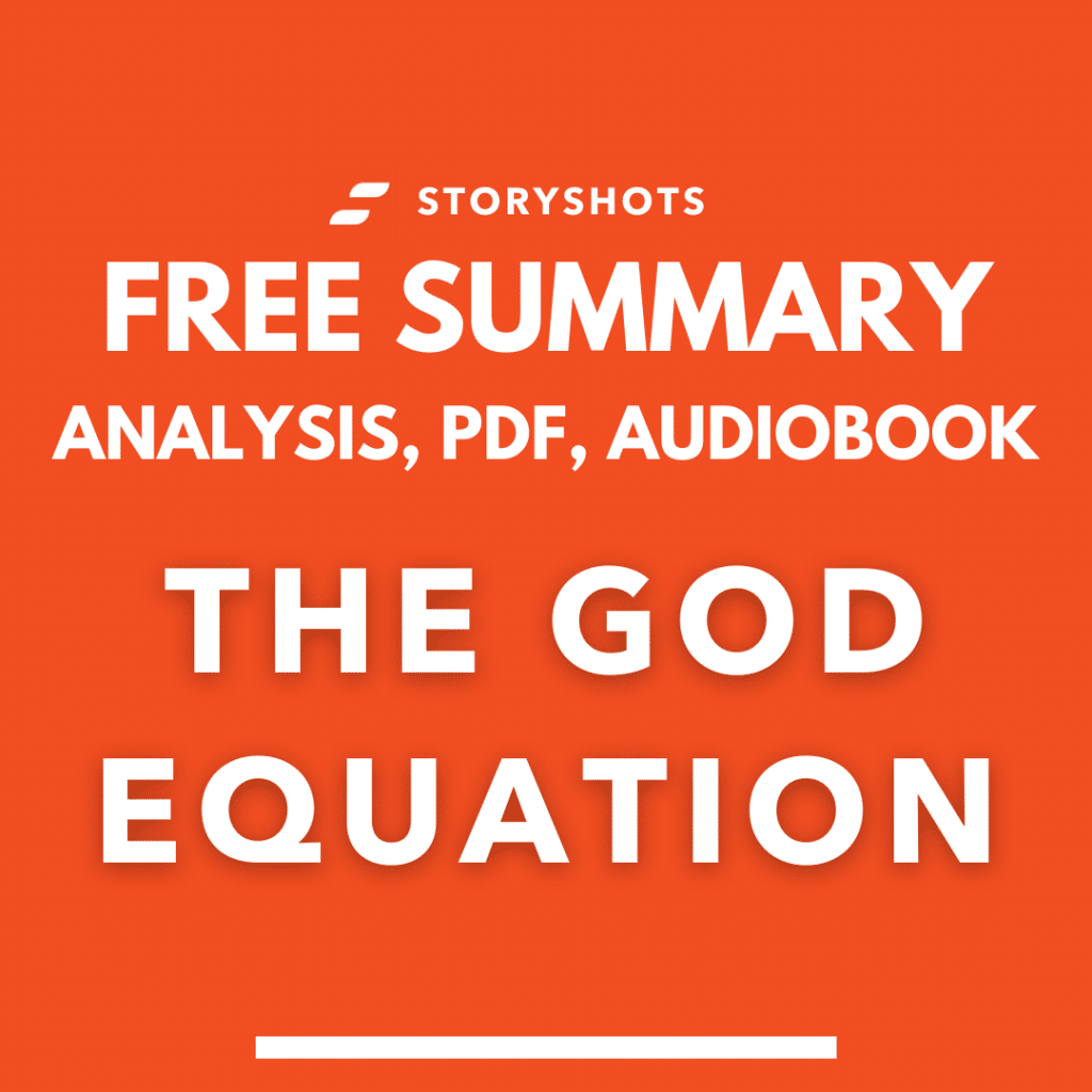 The God Equation Summary PDF Analysis Free Audiobook