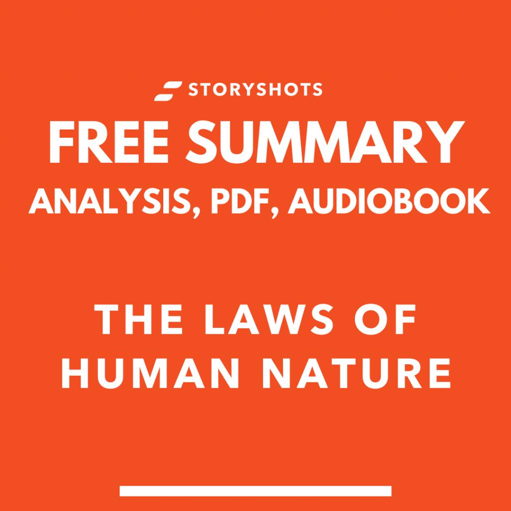 the laws of human nature summary pdf robert greene free book review audiobook storyshots analysis