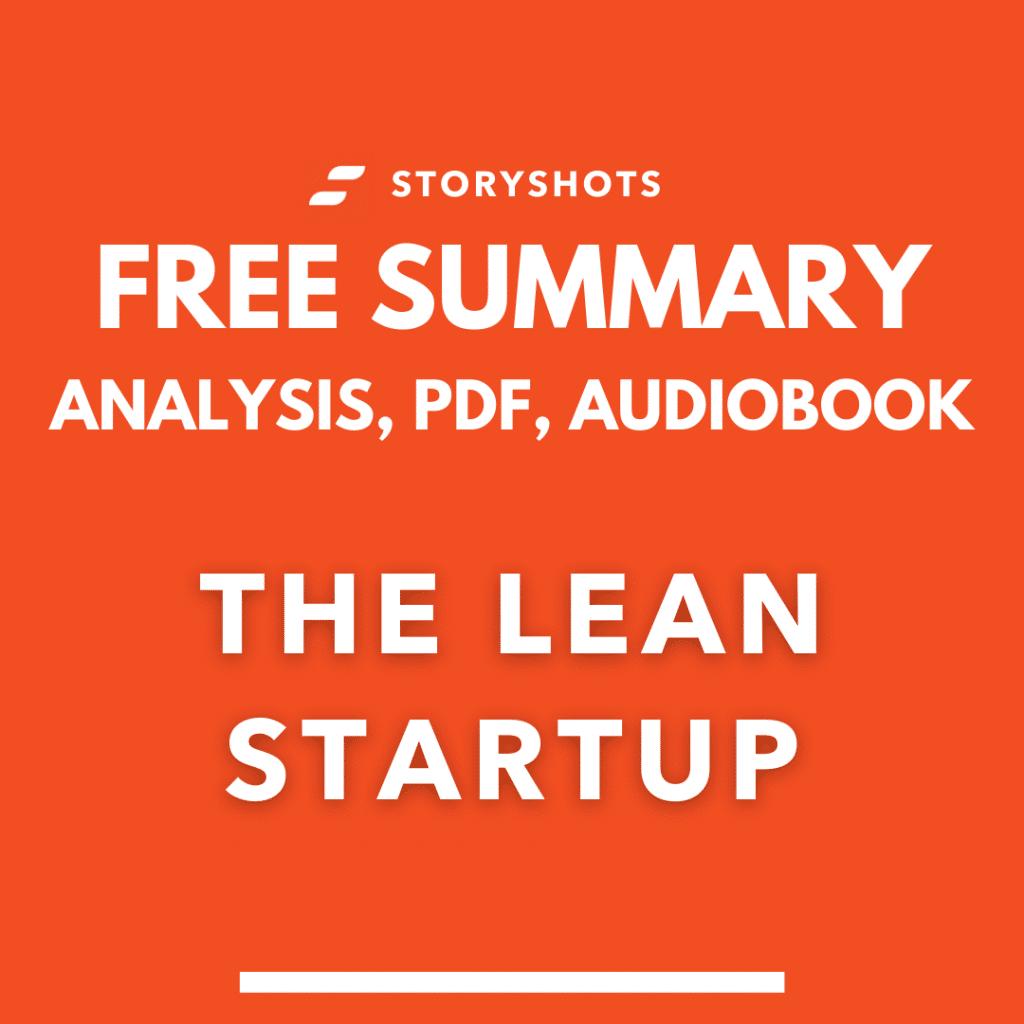 the lean starup summary pdf eric ries free audiobook ebook animated book summary storyshots analysis