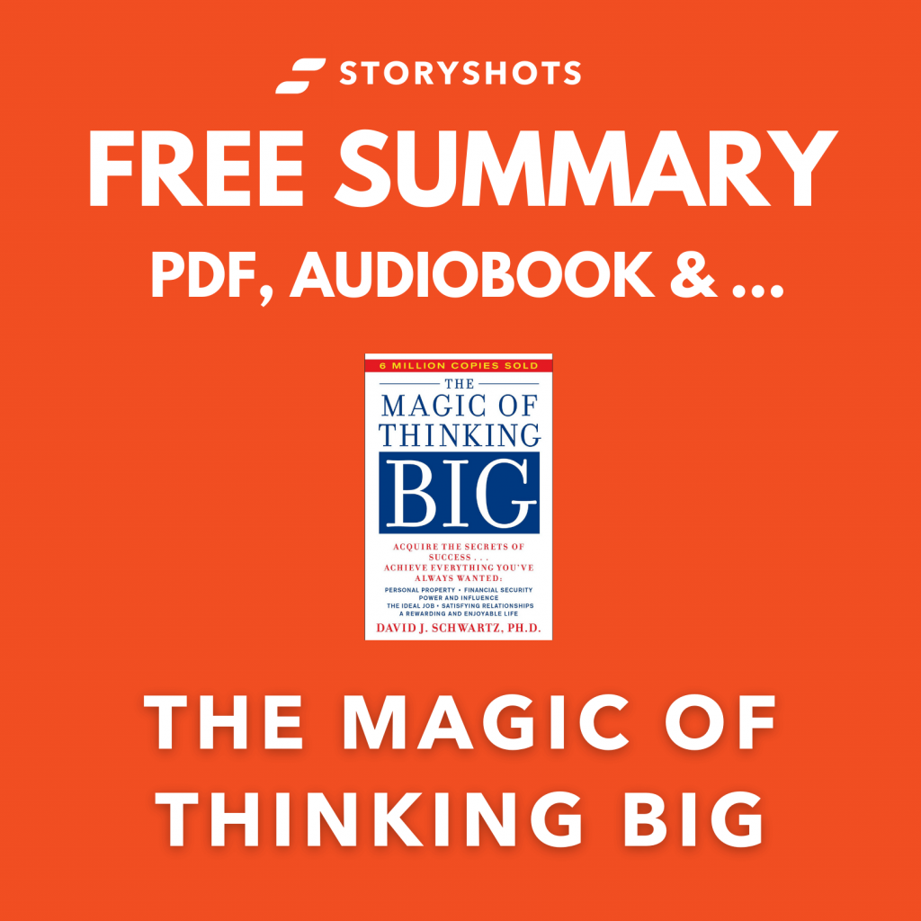Chapter-by-Chapter Summary of The Magic of Thinking Big by David J Schwartz PDF Free Audiobook | Quotes