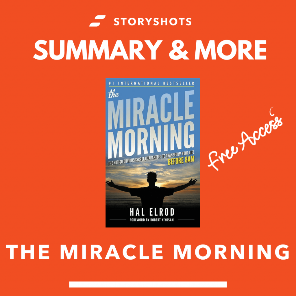 The Miracle Morning by Hal Elrod summary, free audiobook, ebook and animated summary