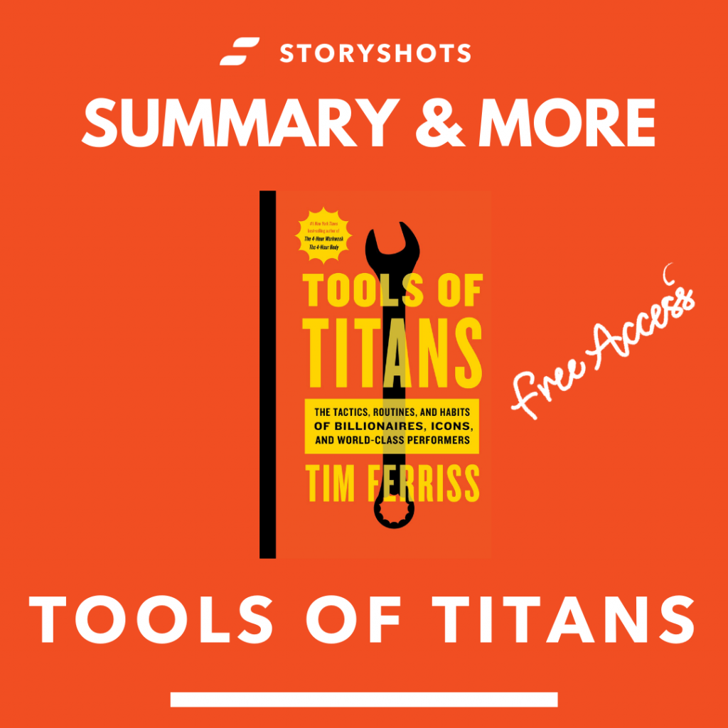 Tools of Titans by Tim Ferriss free audiobook and animated summary
