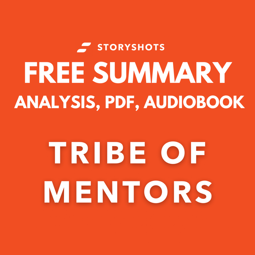 Tribe of Mentors Free Book Review Summary Audiobook Animated Book Summary PDF Epub on StoryShots