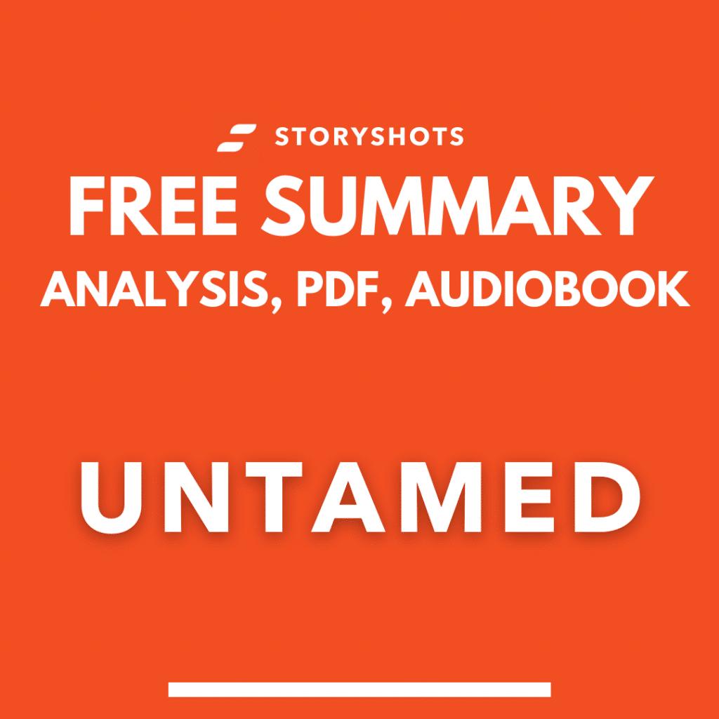 untamed summary pdf glennon doyle free book audiobook analysis quotes storyshots