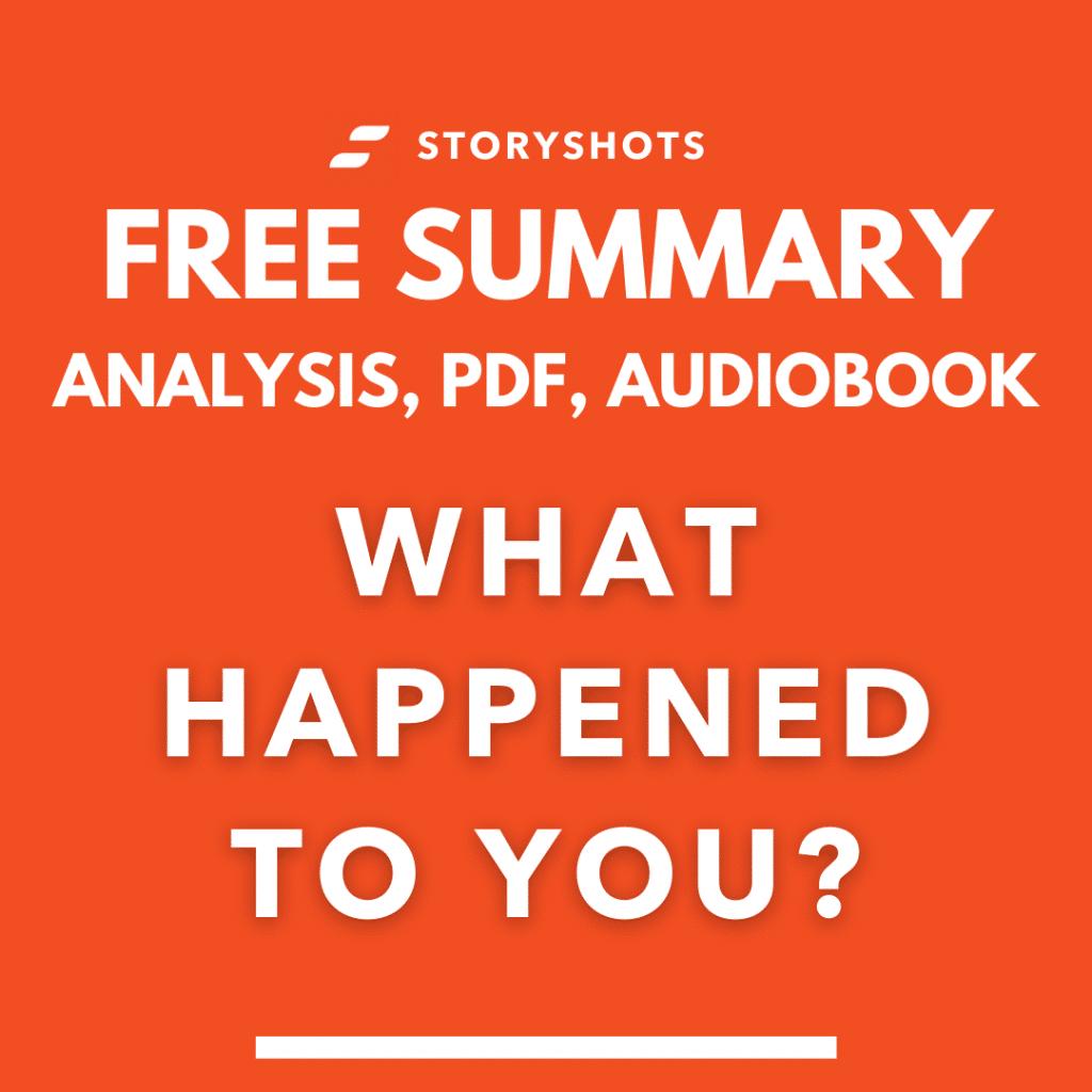 What happened to you pdf book summary oprah winfrey storyshots free audiobook