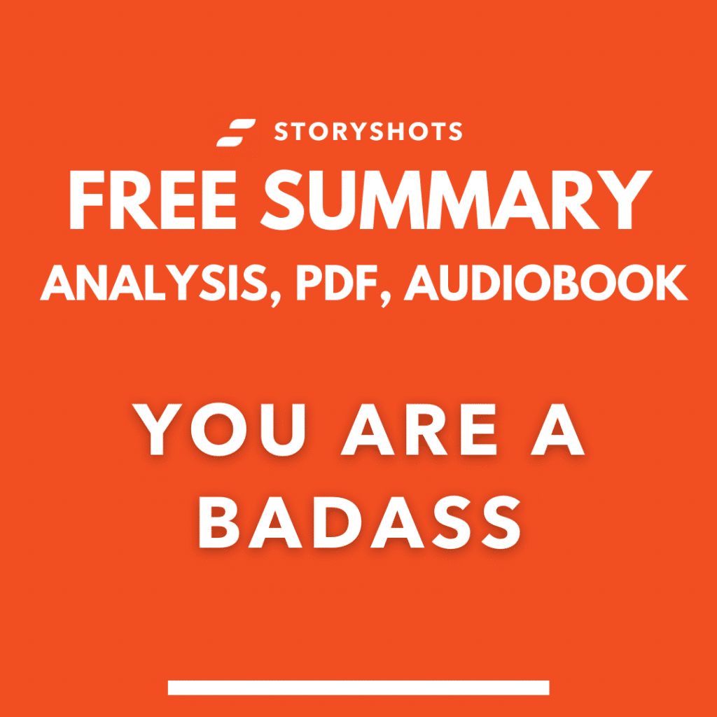 You are a badass by Jen Sincero Free Book Review Summary Audiobook Animated Book Summary PDF Epub on StoryShots